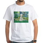 Bridge / Bedlington T White T-Shirt