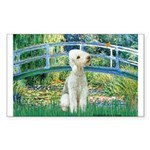 Bridge / Bedlington T Sticker (Rectangle)