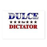 DULCE for dictator Postcards (Package of 8)