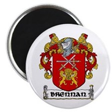 "Brennan Coat of Arms 2.25"" Magnet (10 pack)"