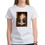 Queen / Bedlington T Women's T-Shirt
