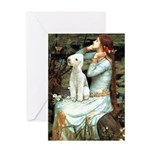 Ophelia / Bedlington T Greeting Card