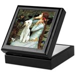 Ophelia / Bedlington T Keepsake Box