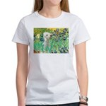 Irises /Bedlington T Women's T-Shirt