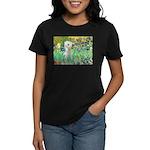 Irises /Bedlington T Women's Dark T-Shirt