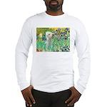 Irises /Bedlington T Long Sleeve T-Shirt
