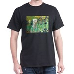 Irises /Bedlington T Dark T-Shirt