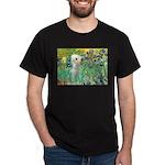 Irises /Bedlington T Dark T-Shirt
