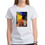Cafe / Bedlington T Women's T-Shirt