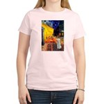 Cafe / Bedlington T Women's Light T-Shirt
