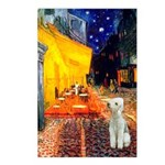 Cafe / Bedlington T Postcards (Package of 8)