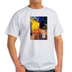 Cafe / Bedlington T Light T-Shirt