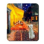 Cafe / Bedlington T Mousepad
