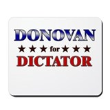 DONOVAN for dictator Mousepad