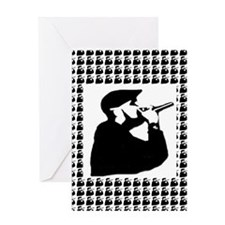Rapper 2 Greeting Card