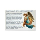 Luther's Morning Prayer Magnet (100 pack)