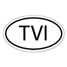 TVI Oval Decal