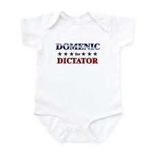 DOMENIC for dictator Infant Bodysuit