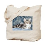 Maine Coon Tabby Tote Bag