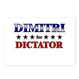 DIMITRI for dictator Postcards (Package of 8)