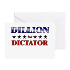DILLION for dictator Greeting Card