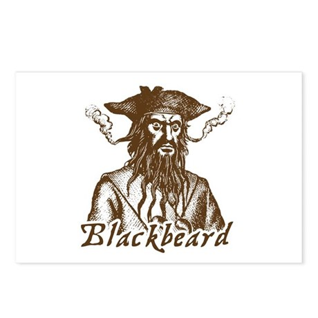 Blackbeard Postcards (Package of 8)