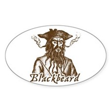 Blackbeard Oval Decal
