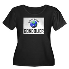 World's Greatest GONDOLIER Women's Plus Size Scoop