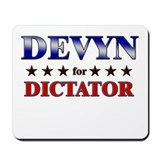 DEVYN for dictator Mousepad