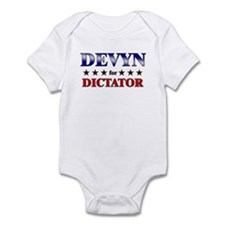 DEVYN for dictator Infant Bodysuit