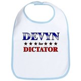 DEVYN for dictator Bib