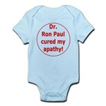 Ron Paul cure-3 Infant Bodysuit