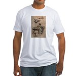 Warwick Goble's The Seven Doves Fitted T-Shirt