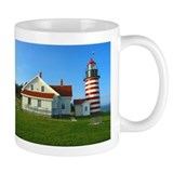 West Quoddy Head Light Small Mug