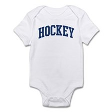 Hockey (blue curve) Infant Bodysuit