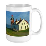 West Quoddy Head Light Mug