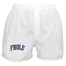 Frolf (blue curve) Boxer Shorts