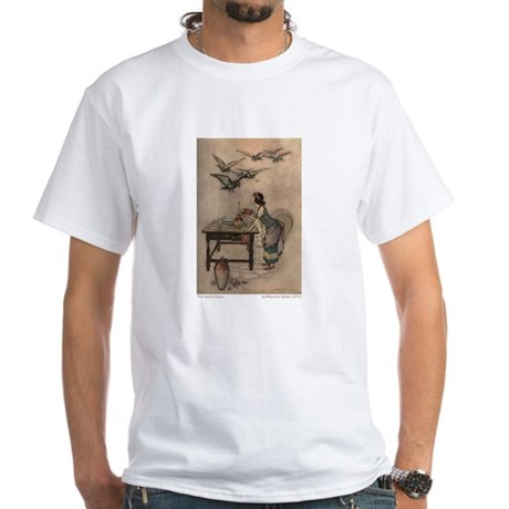 Warwick Goble's The Seven Doves White T-Shirt