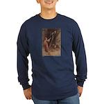 Warwick Goble's Parsley Long Sleeve Dark T-Shirt