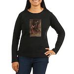 Warwick Goble's Parsley Women's Long Sleeve Dark T