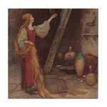Warwick Goble's Parsley Tile Coaster