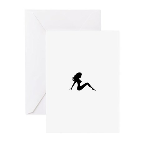 Trucker Girl VI Greeting Cards (Pk of 10)