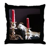 Cute Whippet Throw Pillow