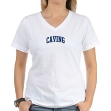 Caving (blue curve) Shirt
