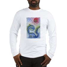 Watercolor Doomsday Long Sleeve T-Shirt