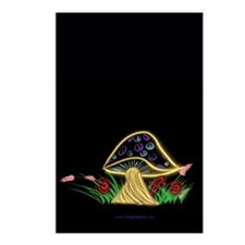 Peace Shroom Postcards (Package of 8)