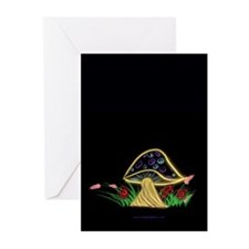 Peace Shroom Greeting Cards (Pk of 20)
