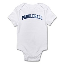 Paddleball (blue curve) Infant Bodysuit