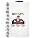 Nick Says Ho Ho Ho Journal