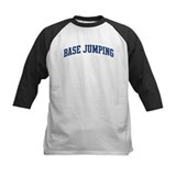 Base Jumping (blue curve) Tee